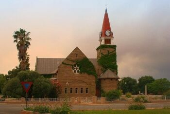 The Dutch Reformed Church in Loxton, Constructed in 1924, Northern Cape