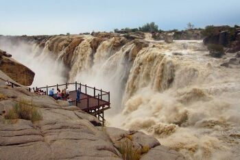 Augrabies Falls in full flow, Northern Cape