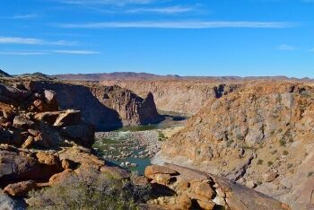 Orange River Canyon, Augrabies National Park, Northern Cape