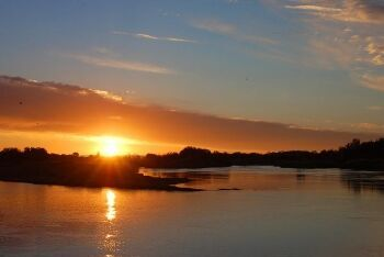 Orange River sunset, Upington, Northern Cape