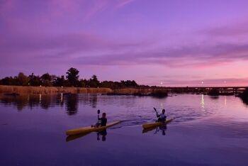 Rafting tours, Vioolsdrift, Orange River, Namaqualand, Northern Cape